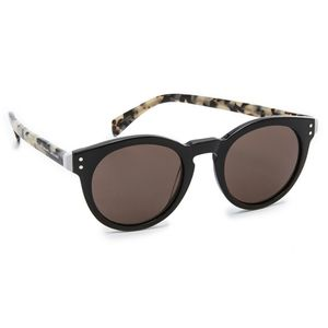 Marc by Marc Jacobs Black Round Sunglasses